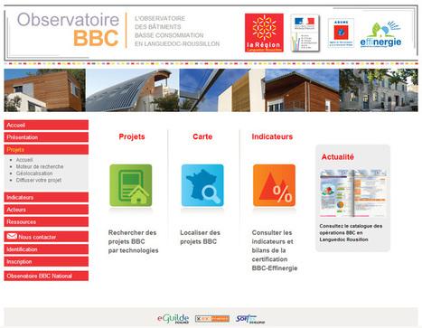 L'Observatoire régional des Bâtiments BBC : tout savoir sur la construction / rénovation BBC | La Maison BBC (Basse consommation) | Scoop.it