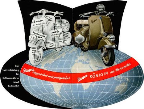 The Vespa family: Germany – Hoffmann/Messerschmitt | Vespa Stories | Scoop.it