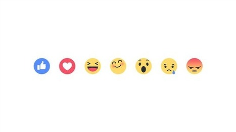 Facebook Goes Beyond 'Like' With 6 New 'Reaction' Buttons | Kickin' Kickers | Scoop.it