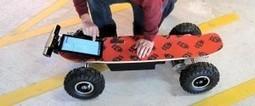 Monopatín controlado por una Kinect con velocidades de 50 Km/h | VIM | Scoop.it