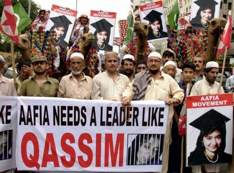 Pasban protest demands release of Dr. Aafia Siddiqui - Karachi | Demotix.com | Human Rights and the Will to be free | Scoop.it