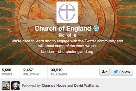 Church of England Issues Social Media Guidelines 'The Twitter Commandments' To Followers | Social Media 4 Good | Scoop.it