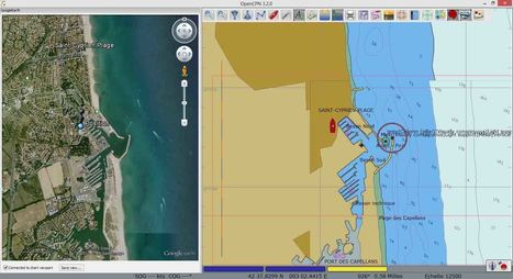 Opencpn et Google Earth | CULTURE MARITIME | Scoop.it