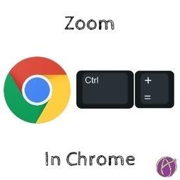 ZOOM - Control Plus, Minus, Zero - Teacher Tech   Keeping up with Ed Tech   Scoop.it