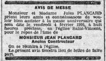 Les Plancard et leurs ancêtres: A...comme Avis de décès | Chroniques d'antan et d'ailleurs | Scoop.it