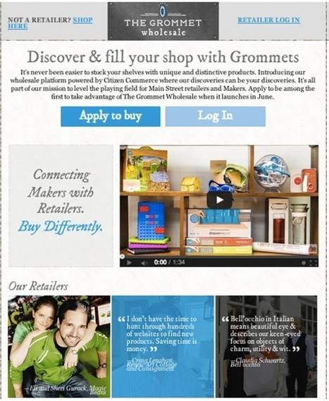 Introducing The Grommet Wholesale: At The White House Maker Faire today! | Manufacturing In the USA Today | Scoop.it