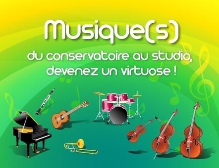 Musique(s): Du conservatoire au studio, deviens un virtuose! | Des outils pour la classe | Scoop.it