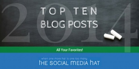 Top Blog Posts from The Social Media Hat for 2014 | Social Media News | Scoop.it