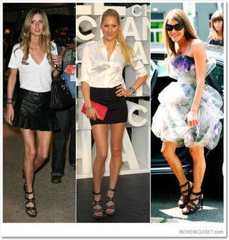 Celebrity In Christian Louboutin : Summer Christian Louboutin Zip Sandals Rodita Platform High Heels | Amazing Hello Kitty Bags | Scoop.it