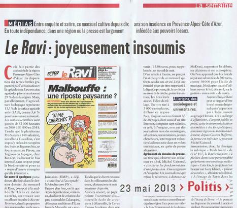 Le Ravi,  joyeusement insoumis | DocPresseESJ | Scoop.it