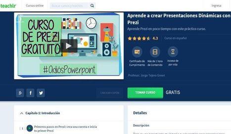 Curso gratuito para aprender a crear presentaciones con Prezi | Trabajo - Formación - Tecnología | Scoop.it