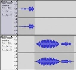 Pedago-tic | Réaliser un podcast : étape 6 – Révision du podcast ... | Audacity | Scoop.it