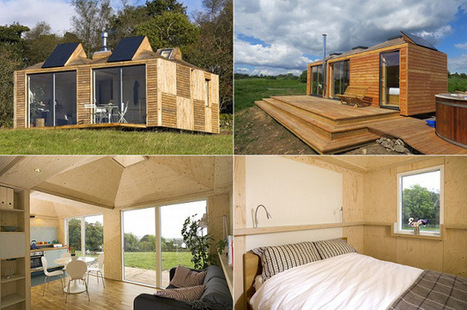 Eco Pods Modular Off Grid Offices, Garden Buildings And Holiday Houses | My kind of Home | Scoop.it
