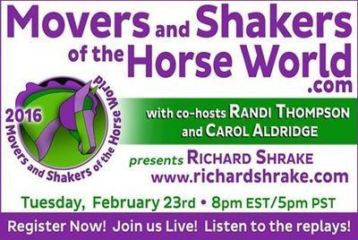 """The Movers and Shakers of the Horse... - ""Movers and Shakers of the Horse World"" 