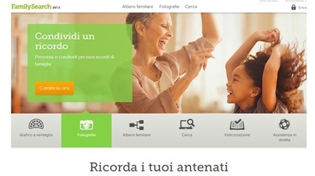 Nuovo sito di FamilySearch | Généal'italie | Scoop.it