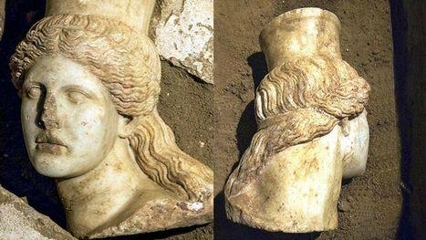 Une tête de sphinx quasi-intacte découverte en Grèce   Bibliothèque des sciences de l'Antiquité   Scoop.it