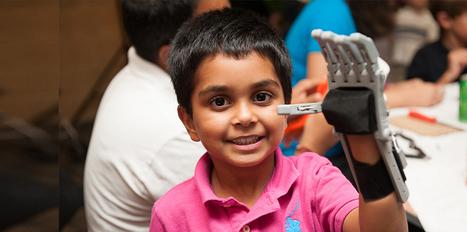 Imprimer une main en 3D pour un enfant handicapé   SoonSoonSoon.com   Chair et Métal - L'Humanité augmentée   Scoop.it