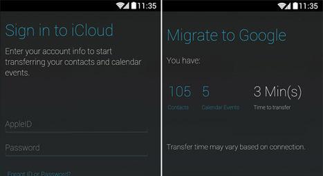 Motorola récupère les données d'iCloud pour les transférer vers ses smartphones | ReScoop | Scoop.it