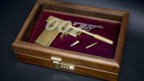 Avec James Bond, les enchères font leur cinéma! Samedi 17 Mai 2014 à Drouot ! | Vente aux encheres mobilier  design et pop culture | Scoop.it