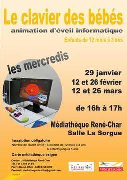 Le clabier des bébés - Médiathèque René-Char - Culture - Ville d'Issoire | Innovations numériques en bibliothèques (sections Jeunesse) | Scoop.it