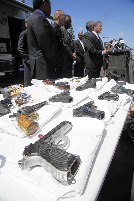 About 50 members of violent LA street gang are arrested in sweep - Los Angeles Times | Los Angeles Criminal Defense | Scoop.it