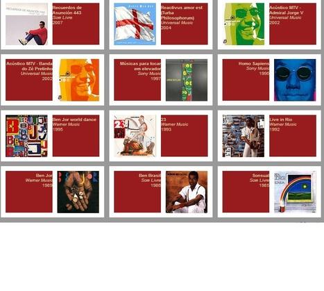 Discografia de Jorge Ben Jor -  Ouça ~> | ♪ ♫ Brazillian Songs ♪ ♫ | Scoop.it