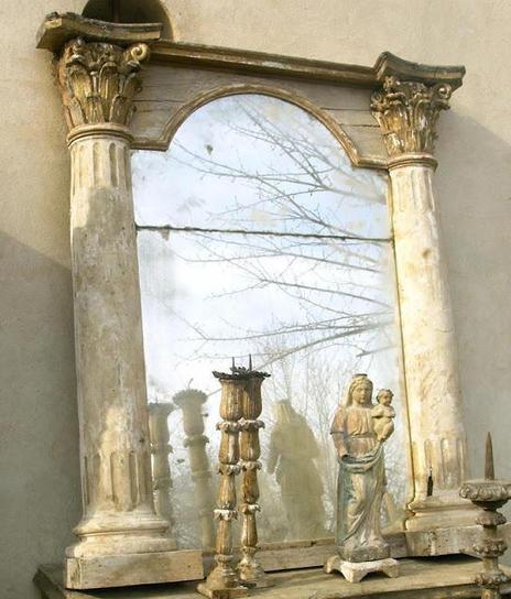 Mirror restored & designed by Elise Valdorcia Studios. © all rights reserved. h... | Elise Valdorcia, Visual artist 3D, Interior decorator, restorer, designer... | Scoop.it
