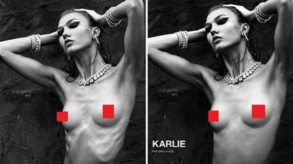 Models Are Getting So Thin That Editors Are Now Photoshopping Them To Look Larger | Fashion News | Scoop.it
