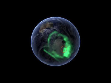 Des trous géant au Poles? pourquoi les masqués sur google earth et les classés secret defense?   Espace, nature, sciences et technologies   Scoop.it