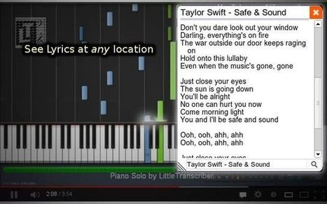 YouTube Lyrics Extension, pon letra a cualquier vídeo musical de YouTube - alsalirdelcole | Recursos escolares - ASDC | Scoop.it