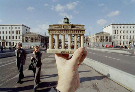 Optical Illusion Photos of Famous Landmarks Replaced With Travel Souvenirs - Enpundit | The brain and illusions | Scoop.it