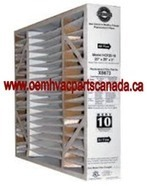 "Lennox X6673 - Healthy Climate HCF20-10 MERV 10  20"" x 25"" x 5"" case of 5 