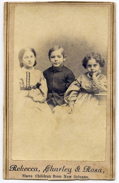 Child Slave 'Cartes de Visites', 1863 | GenealoNet | Scoop.it