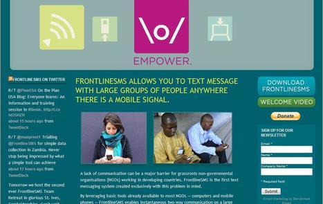 FrontlineSMS | Social media kitbag | Scoop.it
