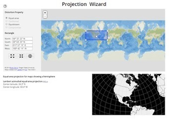 Projection Wizard - Which Kind of Map is Best for Your Project? | AP HUMAN GEOGRAPHY DIGITAL  STUDY: MIKE BUSARELLO | Scoop.it