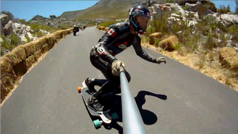'Human F1' skateboarder smashes speed record (with video) | READ WHAT I READ | Scoop.it