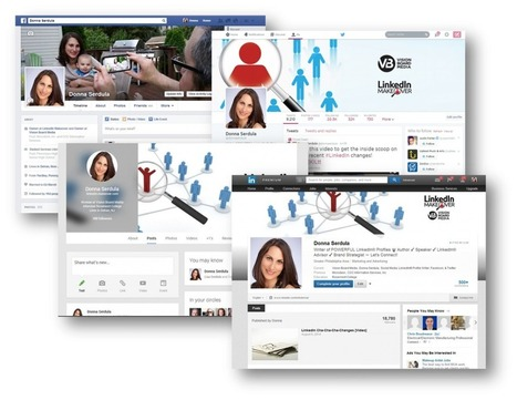 LinkedIn Customized Backgrounds, Templates, & Examples | Advertising 2 | Scoop.it