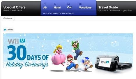 Vous êtes dans l'avion et là, Mario vous annonce qu'il va distribuer des Wii U à tous les passagers | Web as we like it | Scoop.it