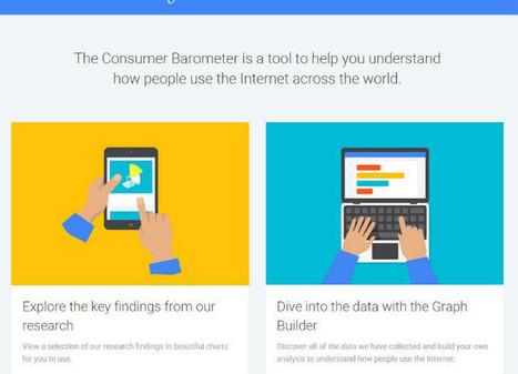 Google lance son Baromètre du Consommateur Connecté | Time to Learn | Scoop.it