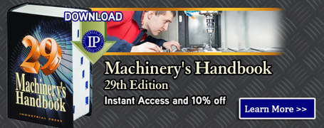 Industrial Press - Machinery's Handbook 29th Edition Downloadable eBook in PDF | Modern Manufacturing Technology | Scoop.it