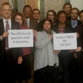 UN derecognizes staff unions, refuses to negotiate | Unions and Labour | Scoop.it