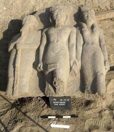 Arqueólogos hallan una estatua de Ramsés II con más de 3.000 años de antigüedad en Egipto | historian: people and cultures | Scoop.it