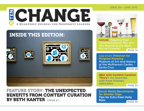 Content Curation in NTEN Change Issue Six: June 2012 | Content Curation for Online Education | Scoop.it