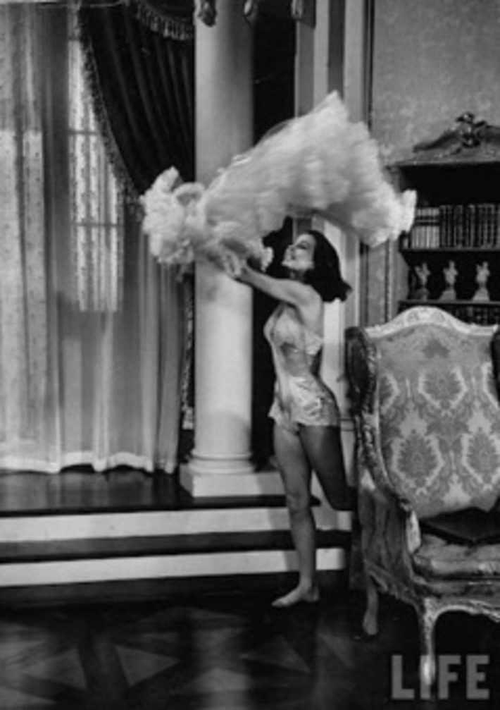 A Slip of a Girl: Cyd Charisse In A Teddy | Lingerie Love | Scoop.it