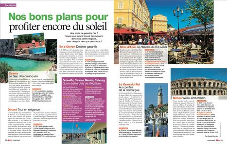 Nice fait sa promotion pour l'arrière saison dans le magazine MAXI | Nice Tourisme | Scoop.it
