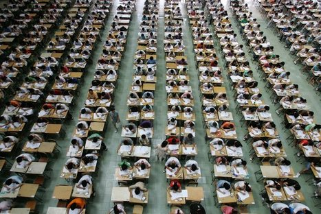 24 Stunning Photos Of China's Insanely Stressful College Entrance Exam Process   The Global Achievement Gap: What Parents Need to Know   Scoop.it