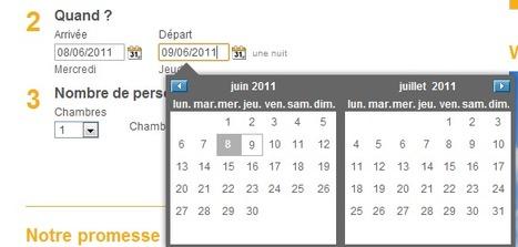 Mini-calendrier : bonnes pratiques pour choisir une date[ Usaddict: Ressources sur l'ergonomie des interfaces (le blog Usabilis)]   UX User experience   Scoop.it
