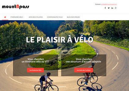 Vélo : mountNpass, nouvelle plateforme de référencement d'itinéraires | Etourisme et social média | Scoop.it