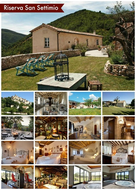 Best Le Marche Accommodations: Riserva Privata San Settimio, Palazzo di Arcevia | Le Marche Properties and Accommodation | Scoop.it