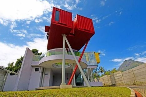 Colorful & Eye-Catching Library Built From Recycled Shipping ... | containerbar | Scoop.it